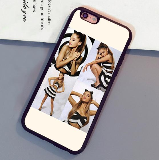 Beautiful Girl Ariana Grande Mobile Phone Cases For iPhone 6 6S Plus 7 7 Plus 5 5S 5C SE 4S Back Cover