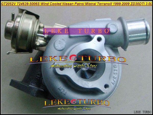 Turbocharger 14411-2X900 for Nissan Patrol Safari 3.0L GT2052V ZD30ETi