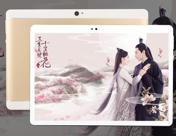 top popular lowest price High quality Octa Core 10 inch MTK6582 IPS capacitive touch screen dual sim 3G tablet phone pc android 6.0 2gb 32 gb 4GB 64GB 2019