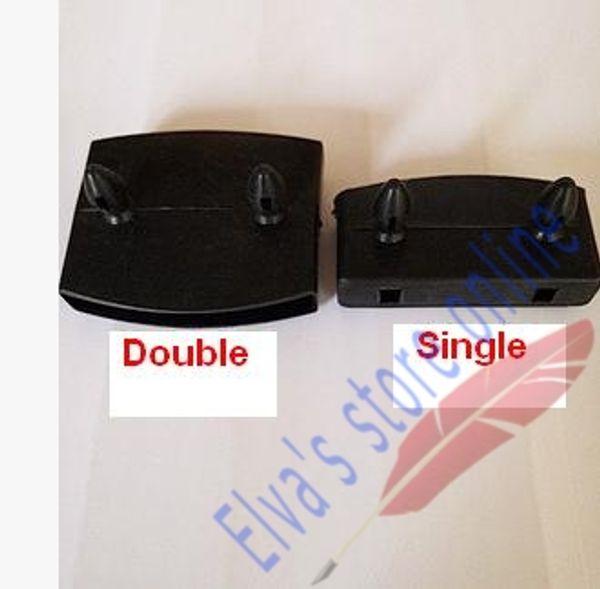 Großhandels- 25mm x55mm 50mm x 55mm 35mm Plastikhalter des hölzernen Holz-Lamellen-Halters Home Care-Bett-Halter für hölzerne Latten für Pflegebetten