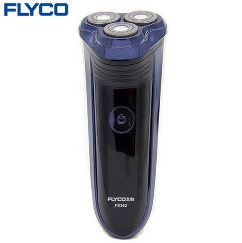 Flyco professional Rechargeable Electric Shavers for men with Pop-up trimmer Triple floating Blades Shaving Machine Razor FS362