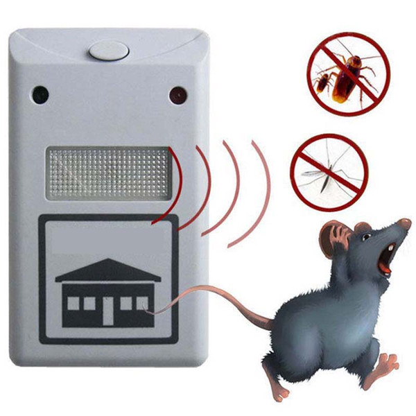 top popular NEW RIDDEX electronic pest repeller pest repelling aid ultrasonic   electromagnetic Anti Mosquito Mouse Insect Cockroach Control 2019