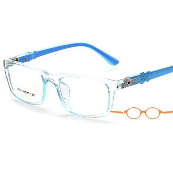 Wholesale- 45-12-125 Optical Flexible Super Light Kids frames eyewear Optical glasses frame for kids Child eyeglass frames TR 8806