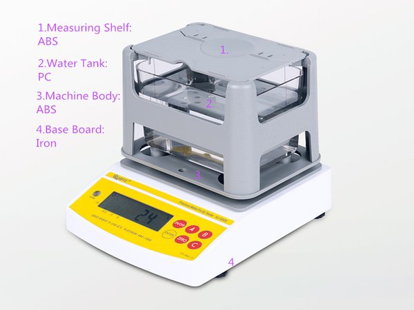 AU-600K 2 Years Warranty ! ! ! Digital Electronic Gold Tester , Gold Purity Detector,Free shipping, best quality