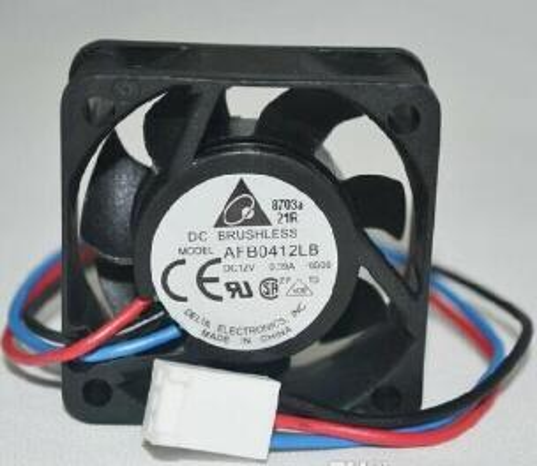 Delta Elektronik AFB0412LB 40x40x15mm Soğutma Fanı, 5000 RPM, 6.5 CFM, 18.5 dBA, 0.09Amp 3-pin TAC fanlar