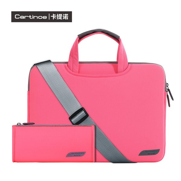 ac9c354b408e 2019 Portable Fashion Soft Sleeve Laptop Bag Case Briefcase Handlebag Pouch  For Macbook Air Pro Ultrabook Laptop Notebook From Cartinoesales, $22.12 |  ...