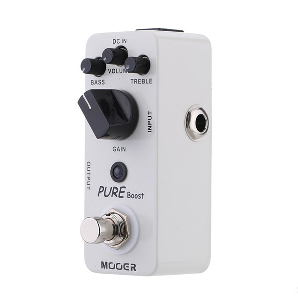 Mooer Pure Boost Micro Mini Boost Effect Pedal for Electric Guitar True Bypass High Quality Guitar Parts & Accessories