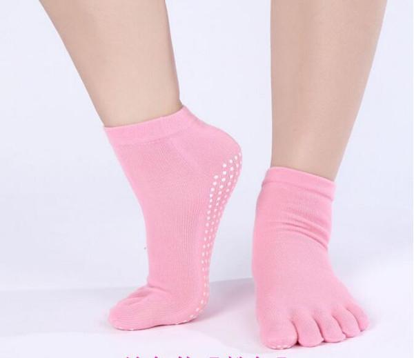 Yoga spor kaymaz Pilates Çorap Kadınlar açık ayak bileği Çorap Spor Egzersiz Non ettiğim doğa yürüyüşü bisiklet çorap çalışan çorap koşu Kayma