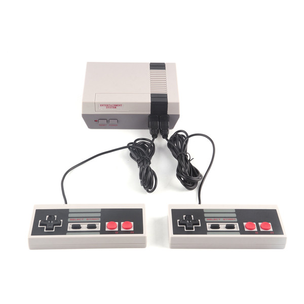 top popular New Arrival Mini TV Game Console Video Handheld for NES games consoles with retail boxs hot sale dhl 2019