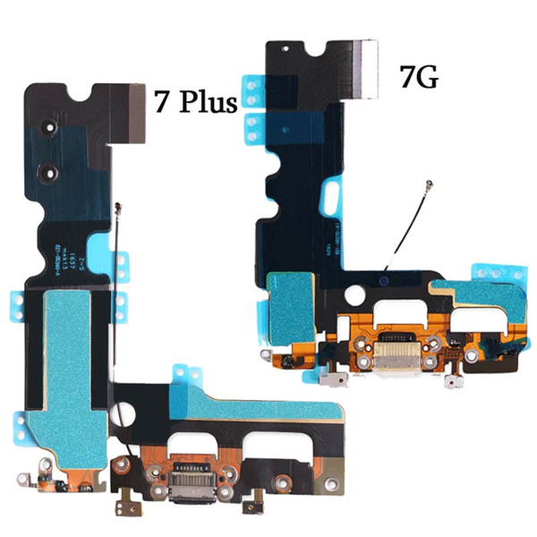 Alta qualità Per iPhone 7G 7 Plus Connettore USB Porta di ricarica Flex Cable Ribbon Replacement Repair Part