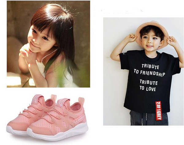 New Spring Canvas Children Shoes Boys Sneakers Brand Kids Shoes for Girls Jeans Denim Flat Boots Baby Shoes European shoe size: 27-36