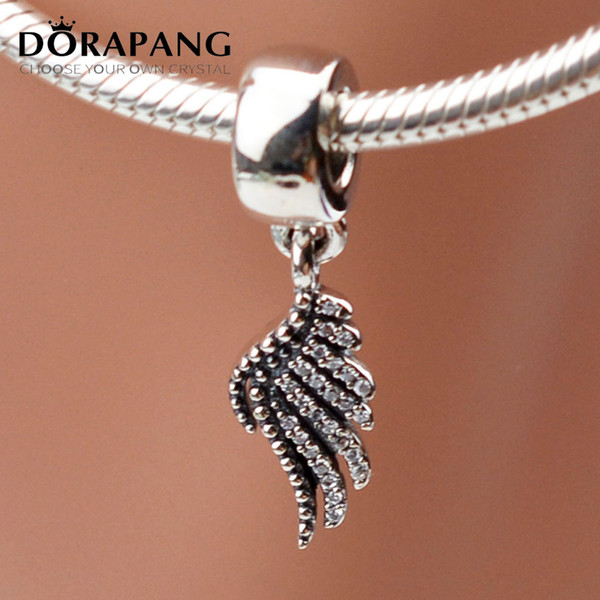 DORAPANG Authentic 925 Sterling Silver Charm Pendant Bead Sets Fit European Style Jewelry Bracelets Bangle & Necklaces-Phoenix Feather 2009