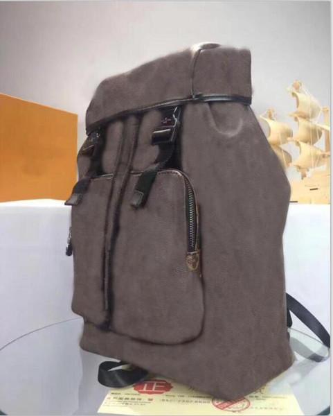 2017 travel bag womens MENS m43422JOSH EXPLORER backpack School book bag leather trim SIRIUS PULSE