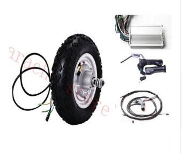 "10"" 500W 48v disc brake electric wheelchair hub motor , electric scooter motor , electric bicycle motor"