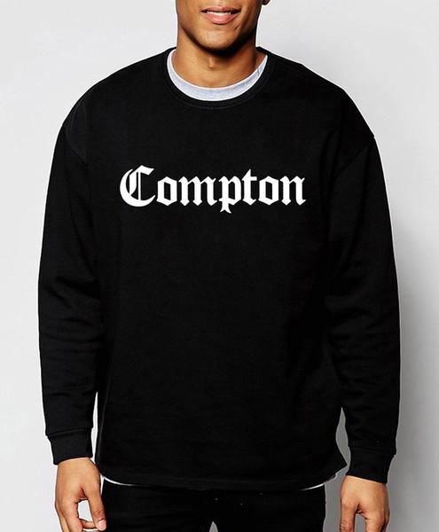 mode hommes sweatshirts Compton nouvelle automne hiver hoodies hip hop streetwear coton lâche culture top marque vêtements