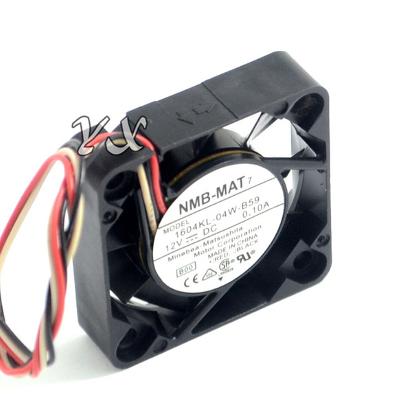 best selling New and Original 1604KL-04W-B59 4010 4CM 12v 0.1A winds of double ball bearing fan for NMB 40*40*10mm