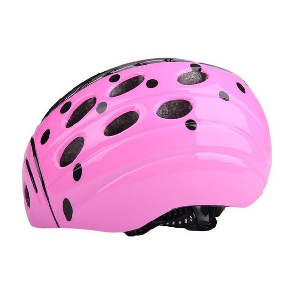 Wholesale- Ultralight EPS Skiing Cycling Skating Helmet Children Beetle Adjustable Racing Road Bicycle Visor For Kids Child safe