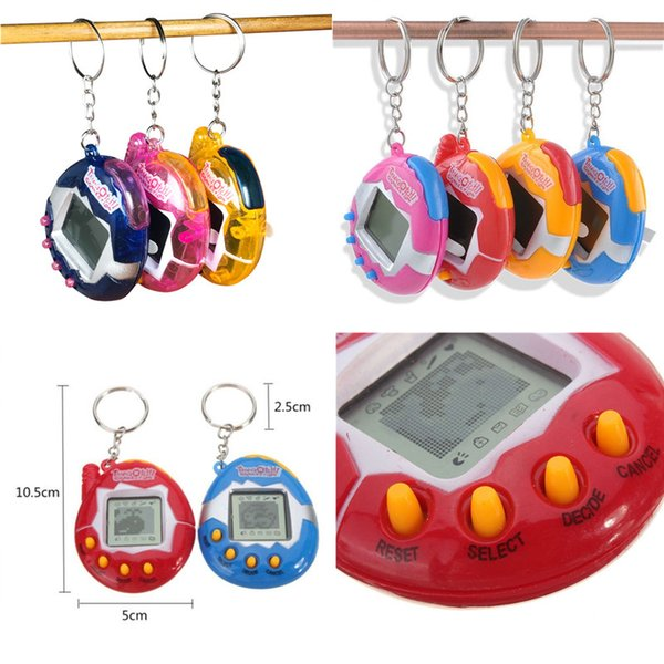 Electronic Pets Machines Virtual Cyber Digital Pets Kids Puzzle Game Machine For Adults Toys Gifts Free DHL A346
