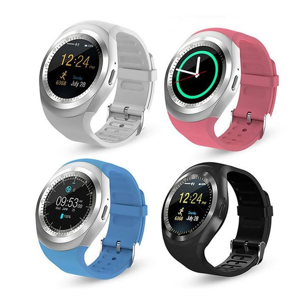 Y1 1.54 Touch Screen wearable Bluetooth Smart Watch Support SIM TF Card With Whatsapp Facebook fitness Smartwatch For Android/IOS phone