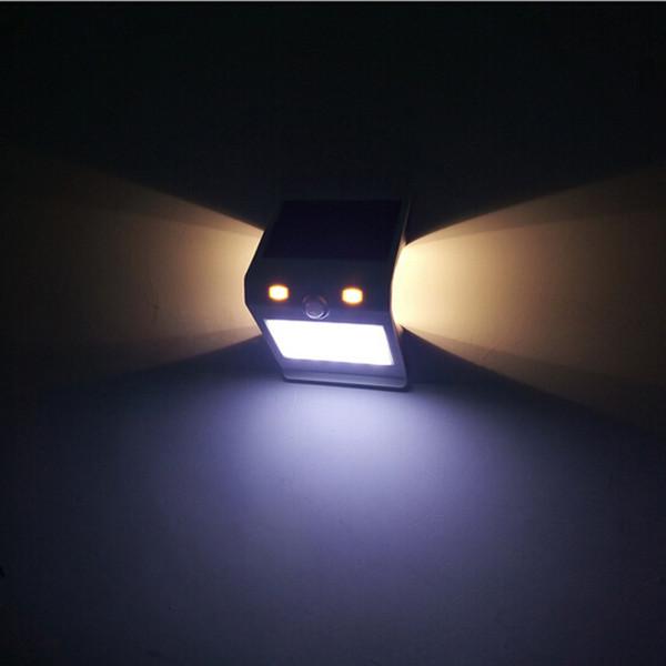 New Version Touch Switch PIR Montion Sensor Solar Light 24LED Waterproof Outdoor Garden Solar Lamp Security Solar Wall Light