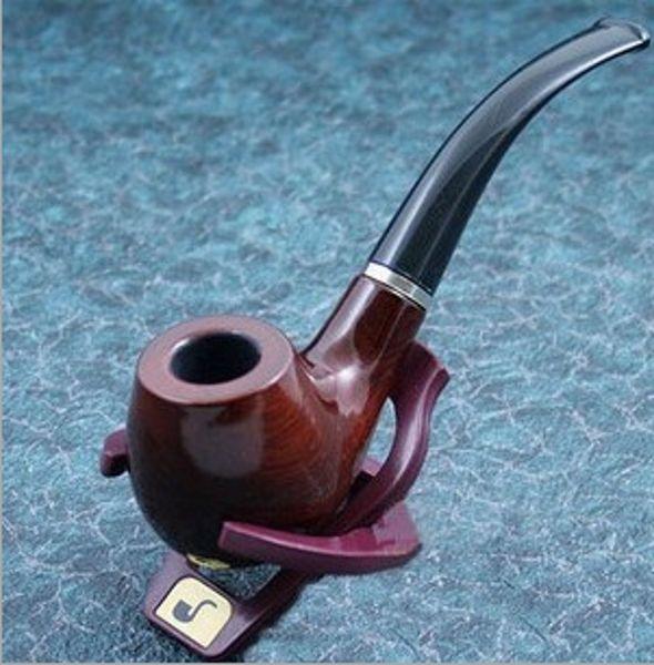 Suporte De Tubos De Fumar De Madeira durável Tubos para fumar Tabaco Cachimbos frete grátis