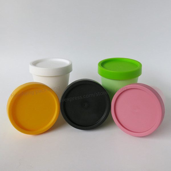 12pcs/lot 200g cylinder mask PP bottle, facial mask cream jars,containers LUSH split charging jars supplier