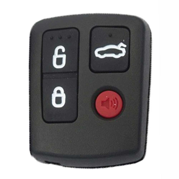 best selling Guaranteed 100% 4Buttons Replacement Keyless Entry Remote Car Key Fob For Ford BA BF Falcon Sedan Wagon Central Locking Free Shipping