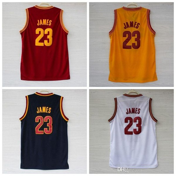 pretty nice f7ffd b7ebc 2018 2017 New Arrivals LeBron James #23 Cavs Jersey, Top Quality Embroidery  LeBron James Jerseys Cavs 23 Jerseys Size S XXXL From Xianhuizheng, $11.04  ...