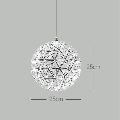 D25cm 18 LEDS
