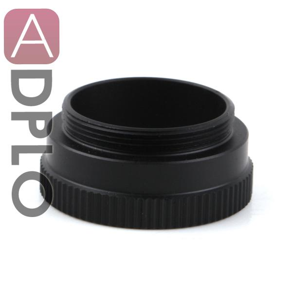Wholesale- 10mm C-CS Mount Lens Adapter Extension Tube suit for CCTV Security Camera