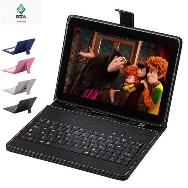 Wholesale- 10.1 inch 10 inch Boda Quad Core Android 4.4 KitKat wifi Tablet 16 GB Bluetooth Bundle Keyboard free gift Keyboard cover