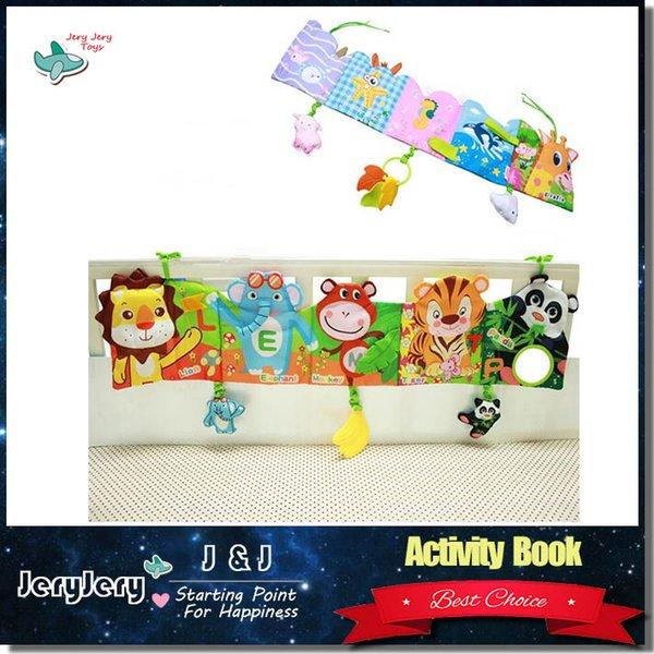2018 lovely infant activity book cartoon animal soft baby