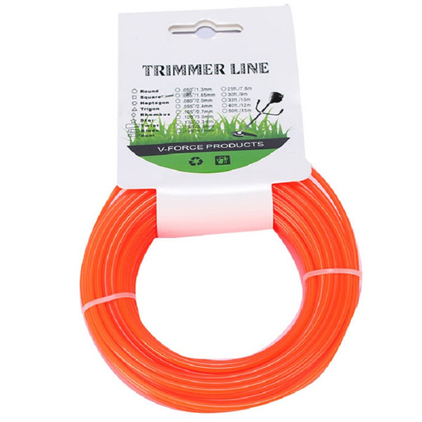 Two Pcs per Bag CG 430 520 brush cutter grass trimmer round nylon trimmer line with 3.0MM*15M size for sale