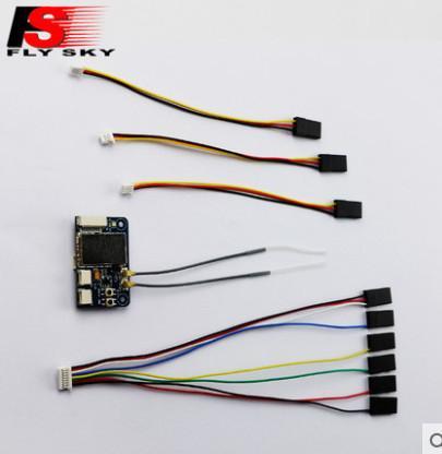 2019 Flysky FS X6B 2.4G PPM I BUS 6CH Receiver For FS I6X FS I6S FS on