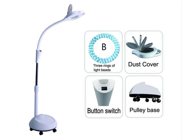 Tipo de três lâminas de lâmpadas
