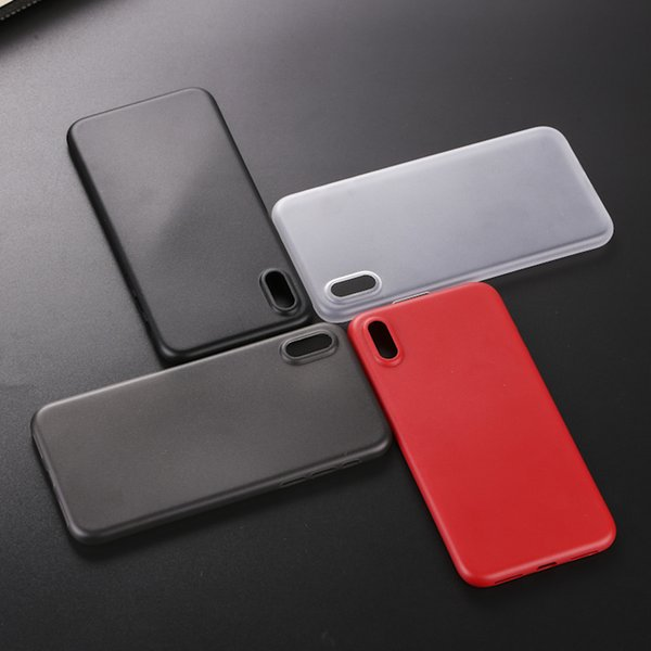 Wholesale For Iphone 8 Case Soft TPU Clear + Matte Back Cover Case For Iphone X Iphone8 edition Carbon fiber phone Casese