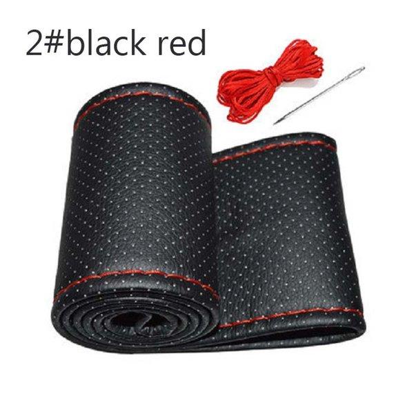 2 siyah, kırmızı
