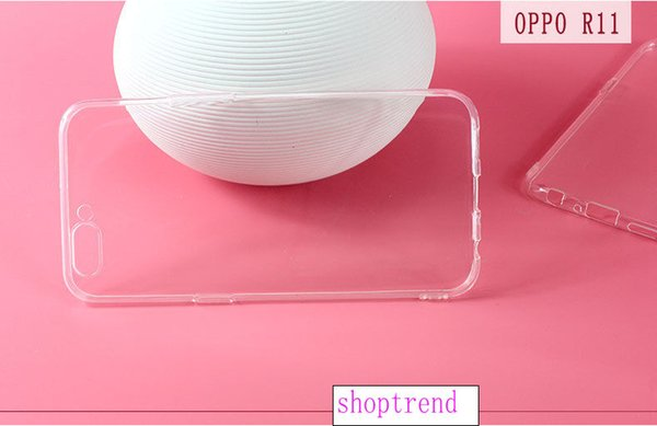For OPPO R11 R11PLUS mobile phone case TPU transparent R11 mobile phone case R11plus ultra-thin mobile phone case