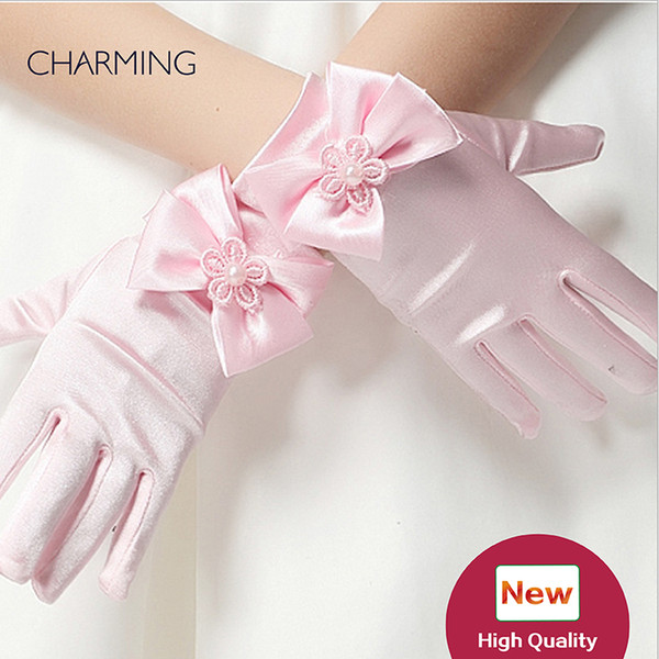 Gloves of the bride Kids beauty contest And dress for flower girl wedding Kids dresses for girls Best flower girl Product supplier china