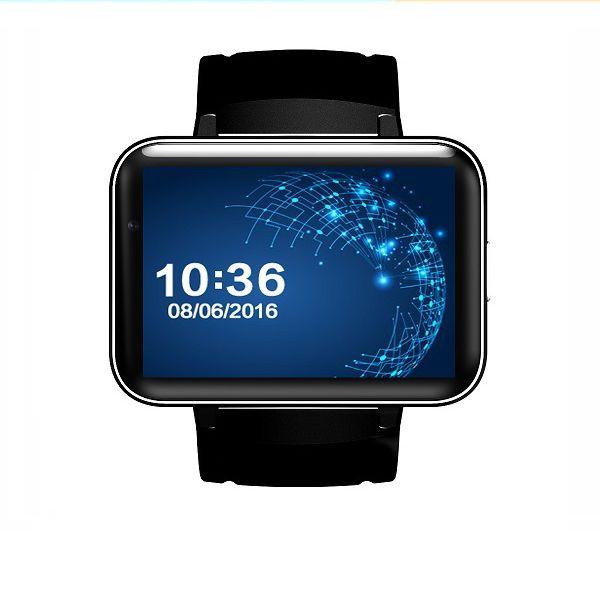 Android 4.4 Smart Watch Phone MTK6572 Quad Core DM98 Bluetooth Smartwatch 3G SIM Wifi GPS Sports Watches WCDMA Smartphone