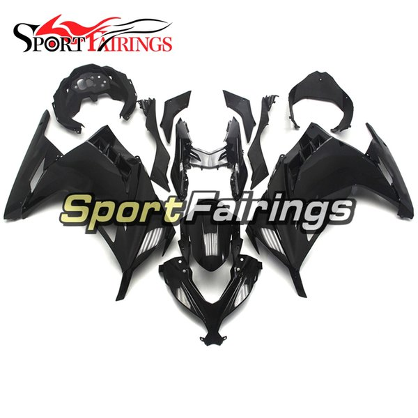 Glossy Black New Injection Fairings For Kawasaki Ninja 300 EX300R 2013-2015 13-15 ABS Plastics Motorcycle Full Fairing Kit Cowling