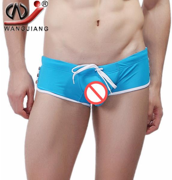 2016 Sexy Men Swimwear Shorts Underwear Men's Swimsuits Slip Hombres Swim Trunks Boxer Hombres Beach Wear Sea Surf Hot Brand bañadores de natación