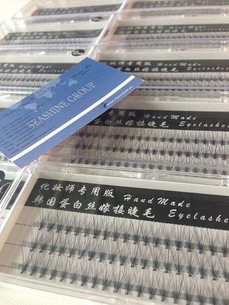 12mm 10hairs /Cluster High Quality Individual False Eyelash Cluster Fashion Eye Lashes Extension Tray Korean Techquine