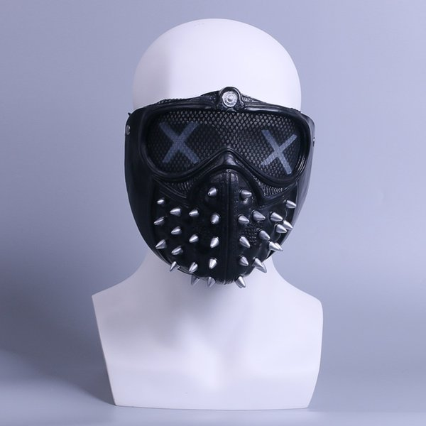 The Game of Watch Dogs Mask Adult Casual Tangerine Cosplay Masks Halloween and Christmas Party Mask Props New