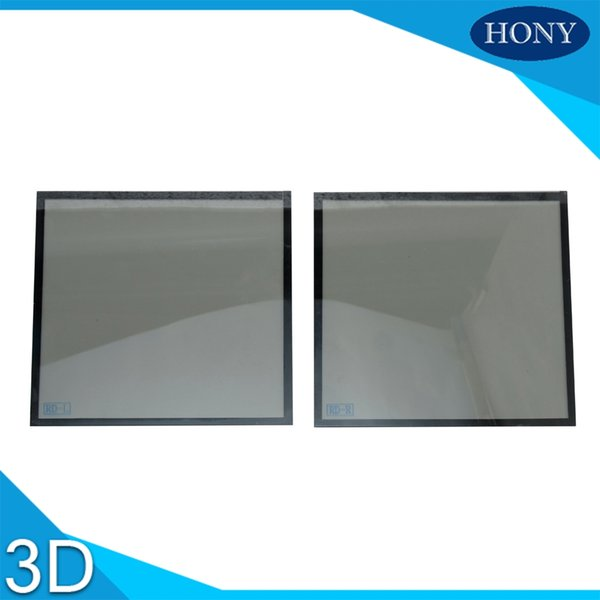 Atacado-3d filtro do projetor circular 3D polarizada filtro para tamanho normal LCD 15 * 15 cm LCD projetor filtros polarizador