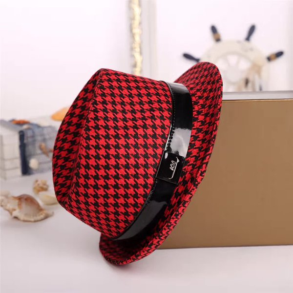 High-quality big hat 4 colors optional fashion cap designer lady sun hat European style brand caps with box