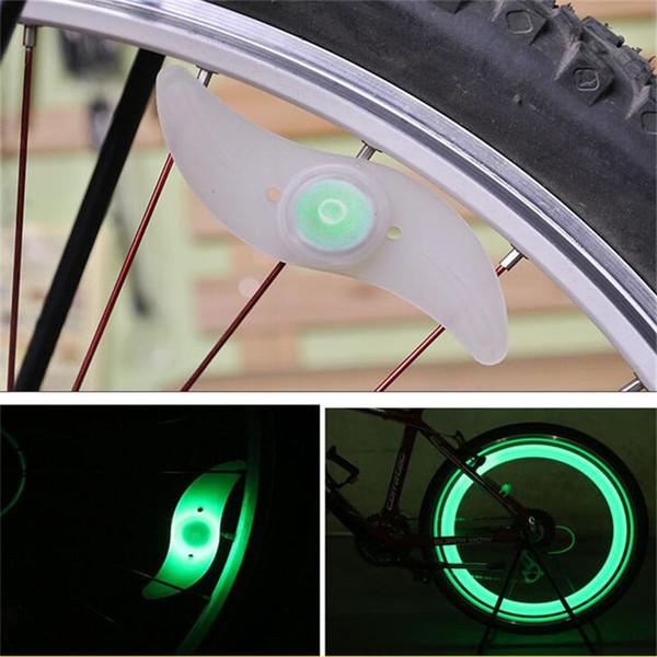 La bicicletta LED ha parlato le luci del fuoco del vento delle ruote del silicone delle luci del flash del motociclo La ruota elettrica dei raggi dell'automobile del motociclo con il pacchetto al minuto