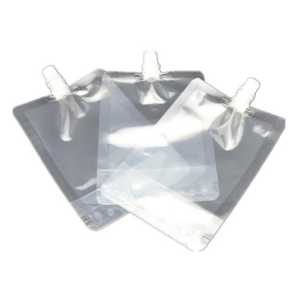 300ml Stand-up-Kunststoff-Getränkeverpackungsbeutel Ausgusstasche für Saft-Milch-Kaffee-Getränkeflüssigkeits-Verpackungsbeutel