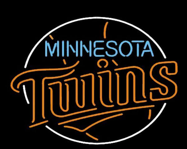 Yeni YÜKSEK YAŞAM Neon Bira Burcu Bar Burcu Gerçek Cam Neon Işık Bira Burcu Minnesota-Twins-Beyzbol-Fanlar-Neon-17x17