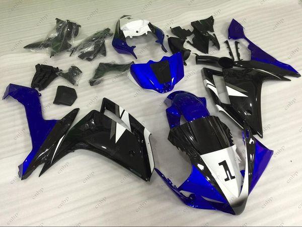 Full Body Kits YZF R1 2008 Body Kits for YAMAHA YZFR1 07 Blue Black Plastic Fairings YZFR1 2007 2007 - 2008